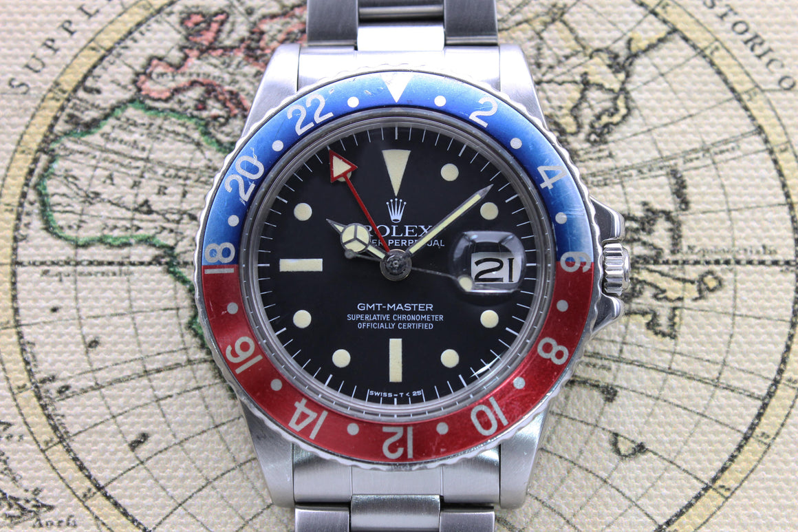 Rolex GMT Master Radial Ref. 1675 Year 1978 (Full Set)