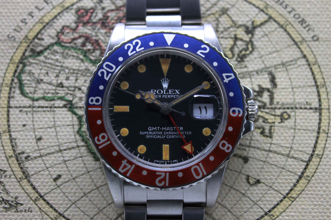 1978 - Rolex GMT Master (Full Set)
