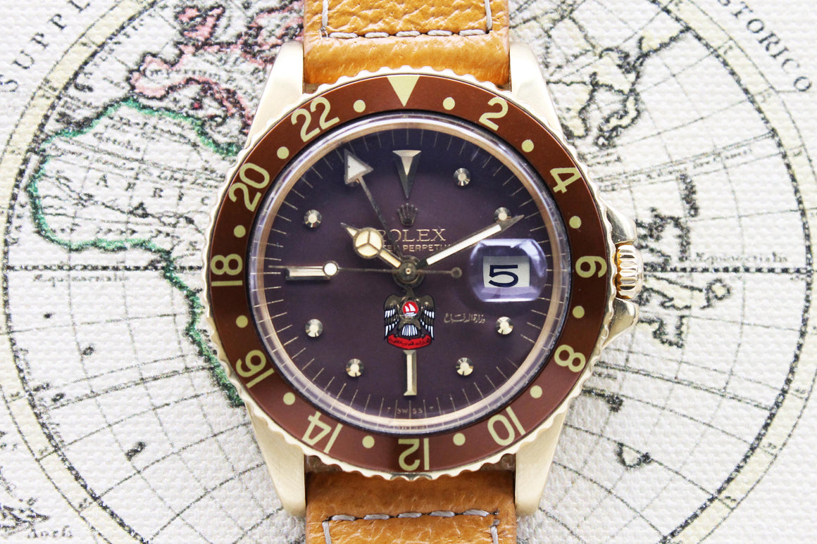 Rolex GMT Master UAE Ref. 1675 Year 1974 - Price on Request