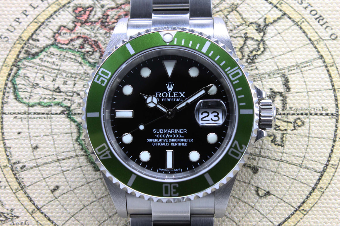 2006 Rolex Submariner 50th Anniversary Maxi MK4 Ref. 16610LV (Full Set)