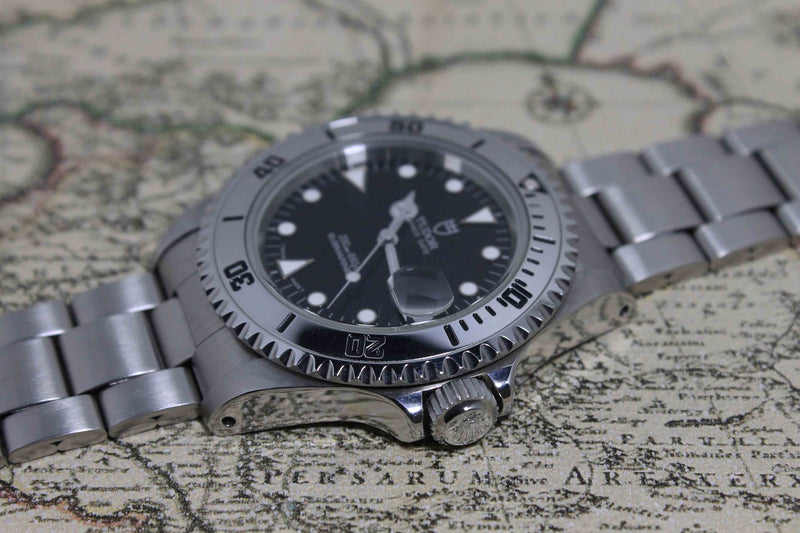 1997 Tudor Submariner 'Rare Steel bezel' Ref.  79190 (Full Set)