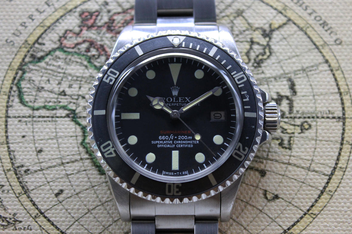 Rolex Red Submariner Ref. 1680 Year 1974 (Full Set)