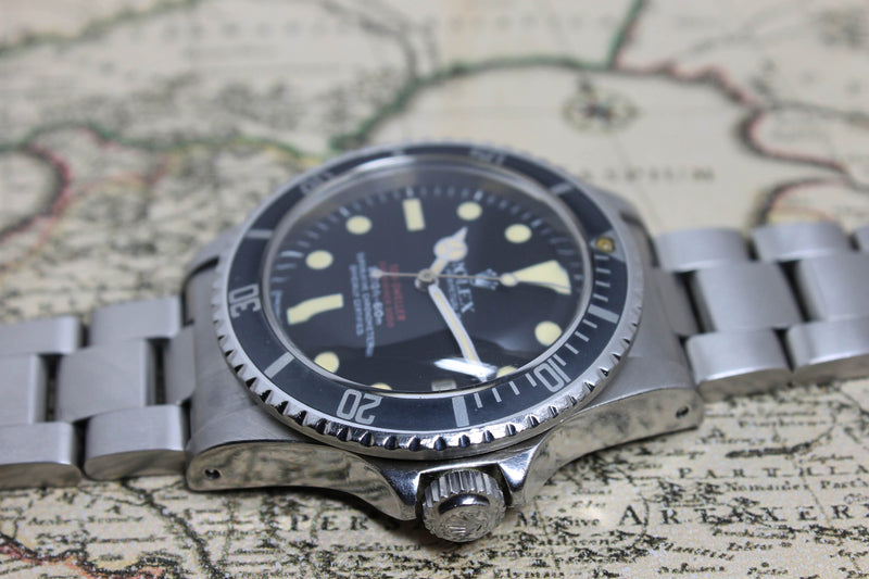 Rolex Double Red Sea Dweller MK4 Ref. 1665 Year 1975 - Price on Request