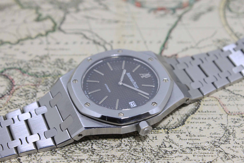 1995 Audemars Piguet Royal Oak Jubilee Tropical 39mm Ref. 14802ST (with Box & Extract from Archive 2020)