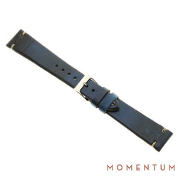 Vintage Strap - Blue - Calf Leather - Momentum Dubai