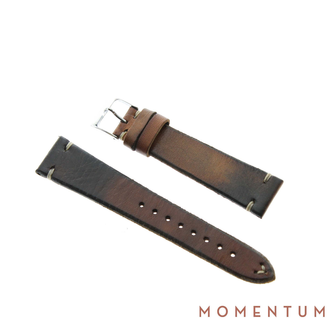 Vintage Strap - Gold - Calf Leather - Momentum Dubai