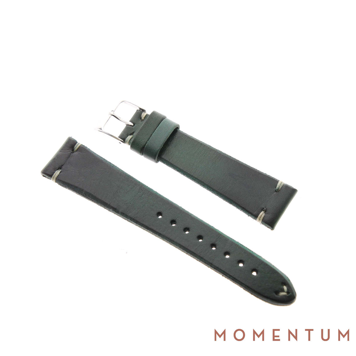 Vintage Strap - Dark Green - Calf Leather - Momentum Dubai