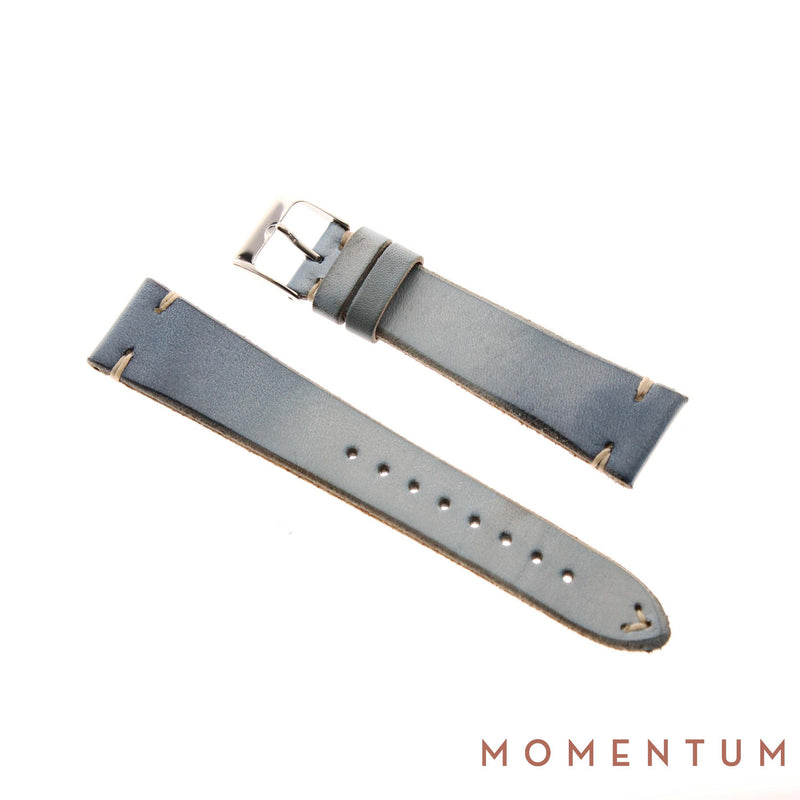 Vintage Strap - Baby Blue - Calf Leather - Momentum Dubai