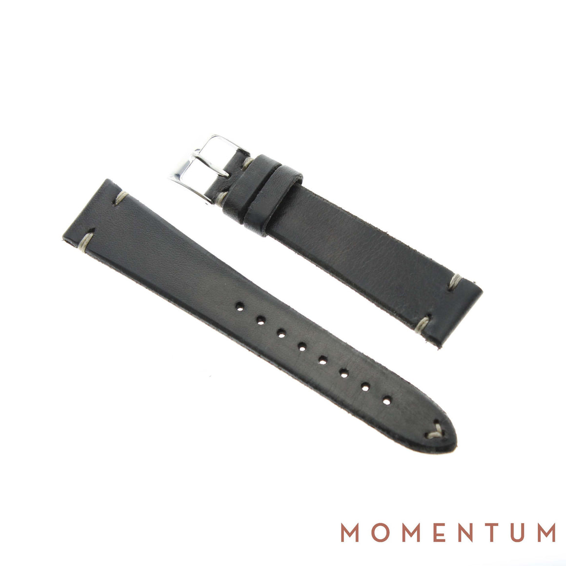 Vintage Strap - Gray - Calf Leather - Momentum Dubai