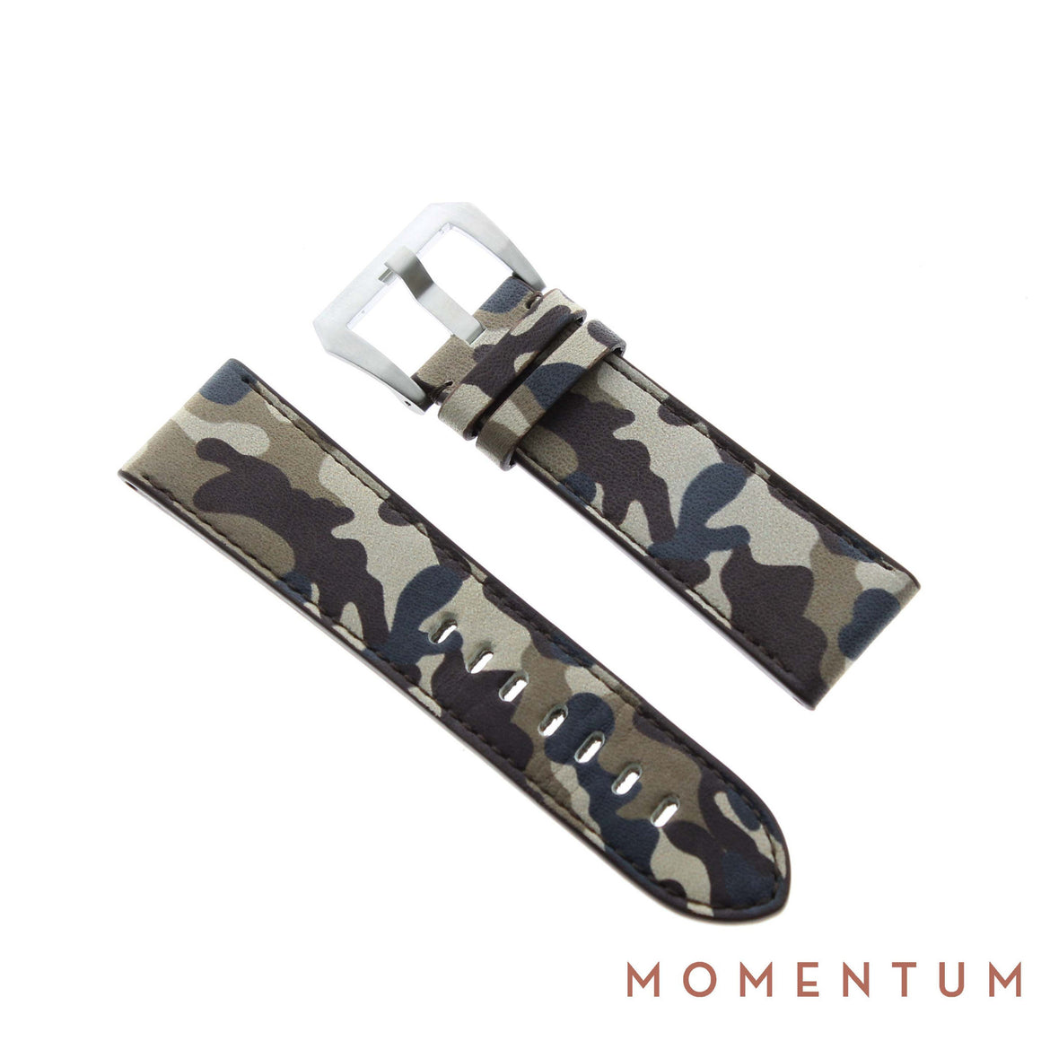 Vintage Strap - Camouflage 24mm - Calf Leather - Momentum Dubai