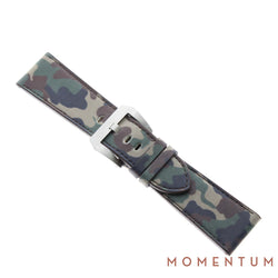 Vintage Strap - Brown Camouflage 26mm - Calf Leather - Momentum Dubai