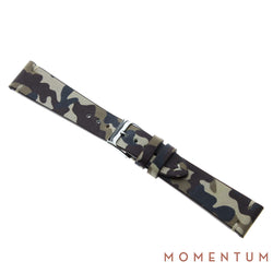 Vintage Strap - Cream Camouflage - Calf Leather - Momentum Dubai