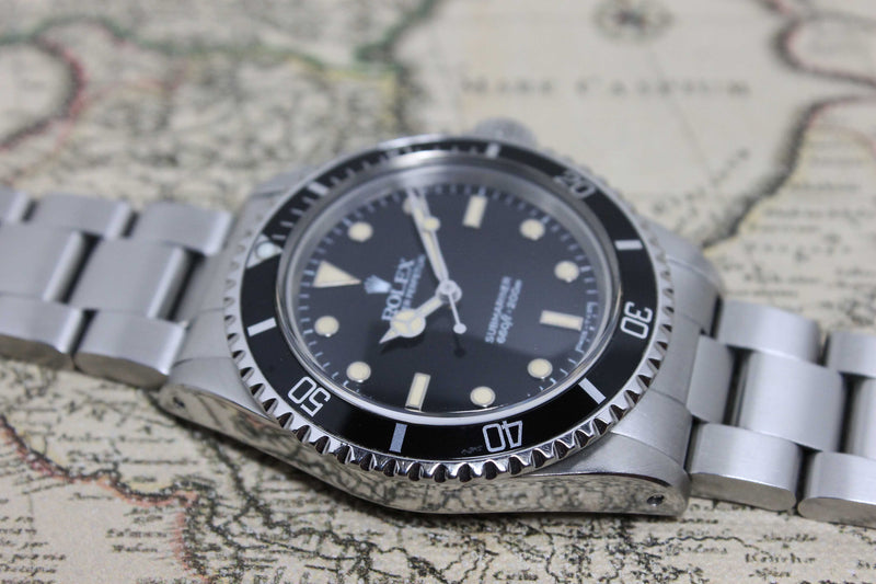 1989 Rolex Submariner L Series Ref. 5513