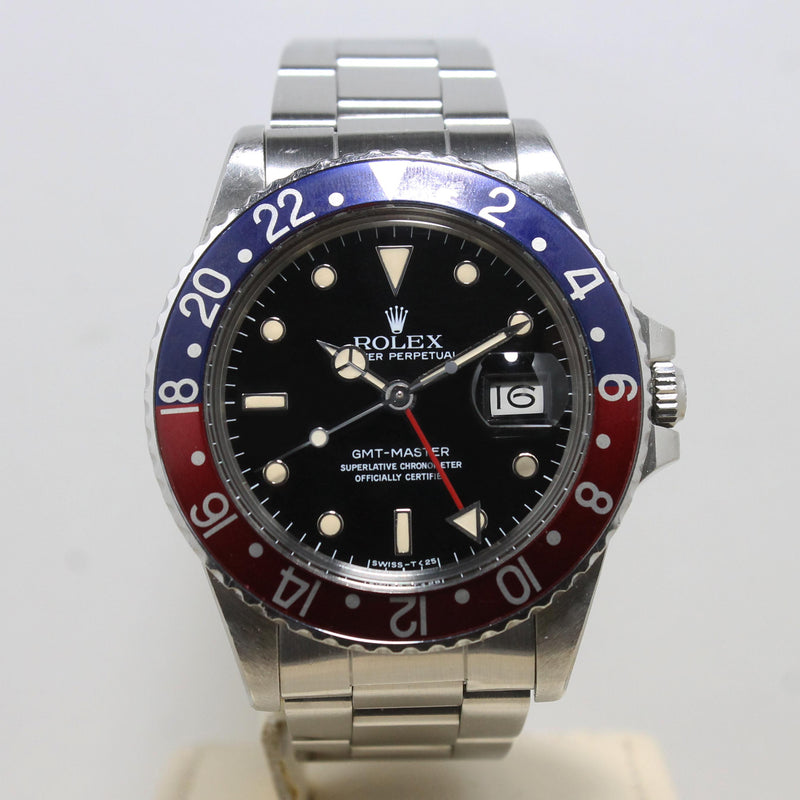 1984 Rolex GMT Master Unpolished Ref. 16750