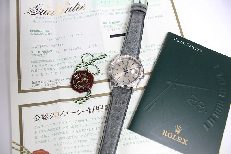 2000 Rolex Datejust Thunderbird St/WG Ref. 16264 (with Papers)