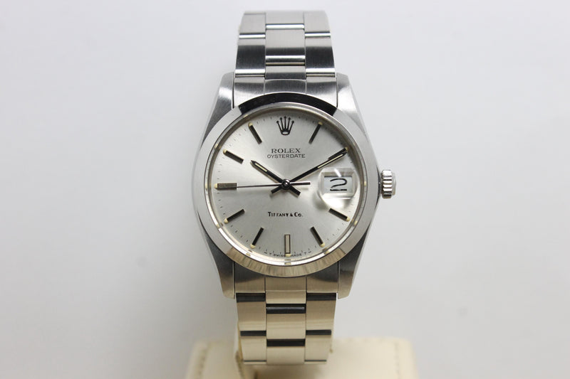 1984 Rolex Oyster Precision Date Tiffany & Co. NOS Ref. 6694