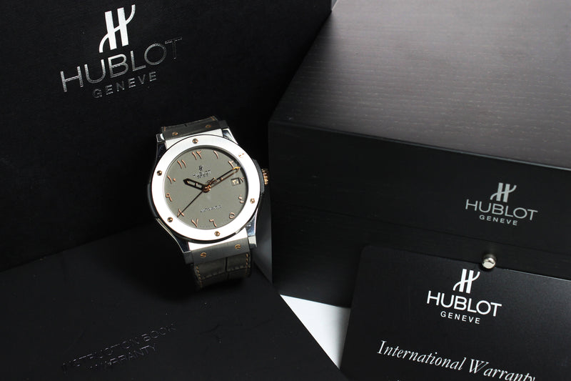 Hublot Vision II Arabic Ref. 049/100 Year 2015 (with Box and Papers)