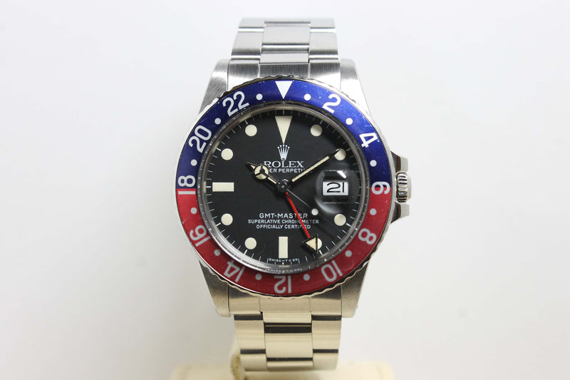 1984 Rolex GMT Master Matte Ref. 16750 (Full Set)