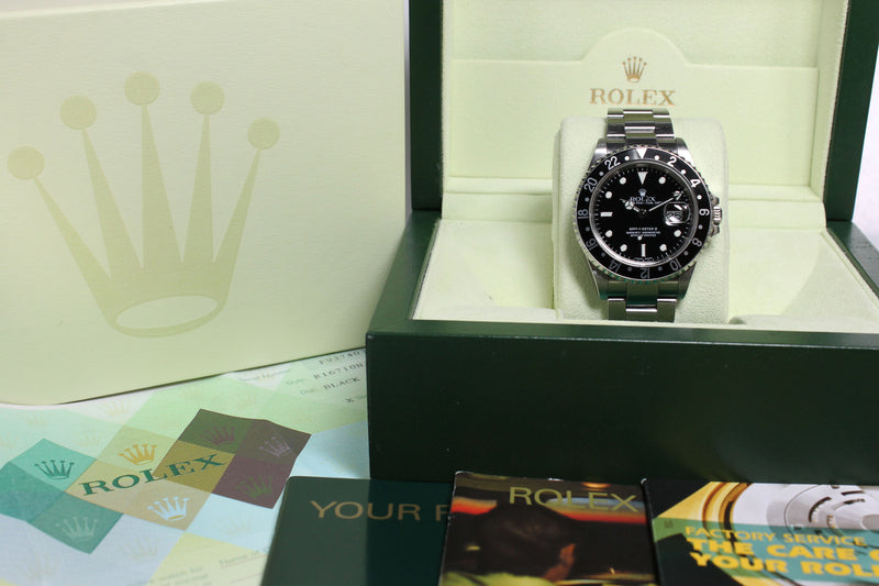 Rolex GMT Master II Ref. 16710 Year 2004 (Full Set)