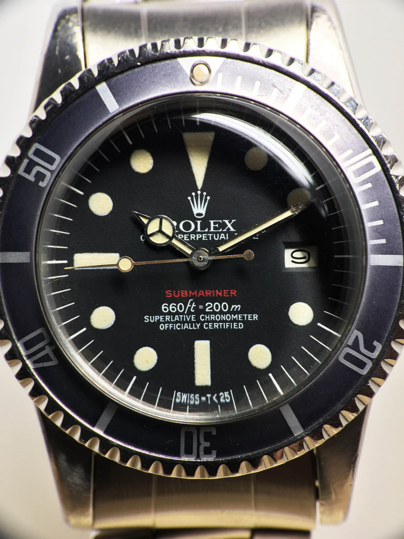 Rolex Red Submariner Ref. 1680 Year 1972 (with Box & Papers)