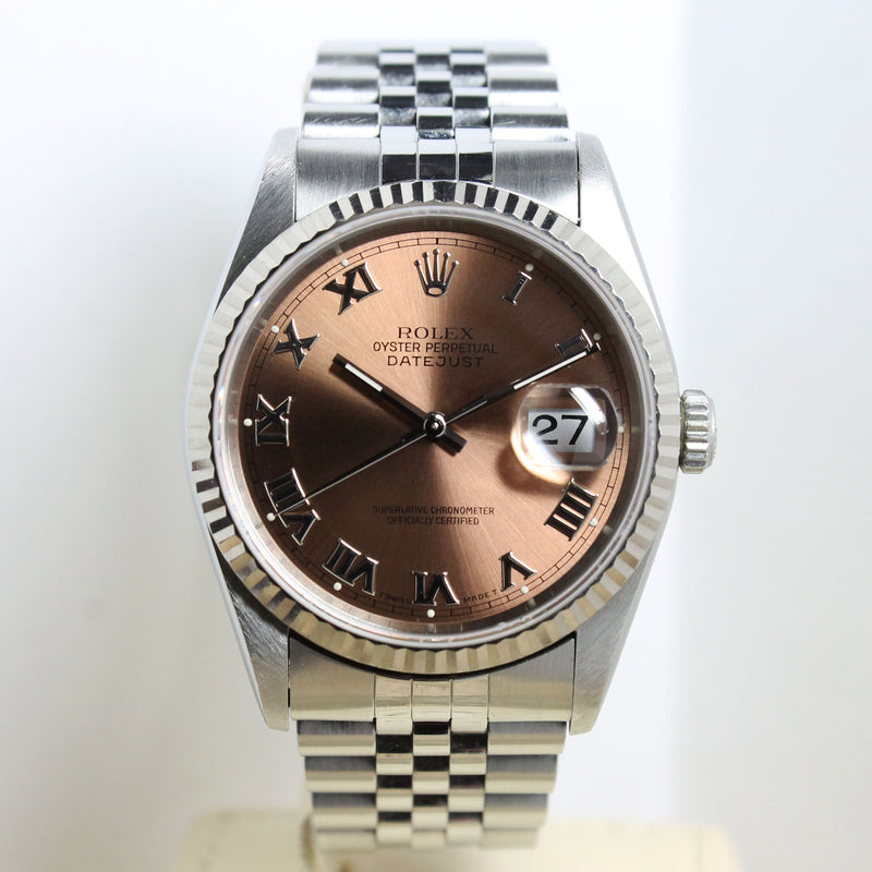 Rolex Datejust St/WG Ref. 16234 Year 1996 (Full Set)