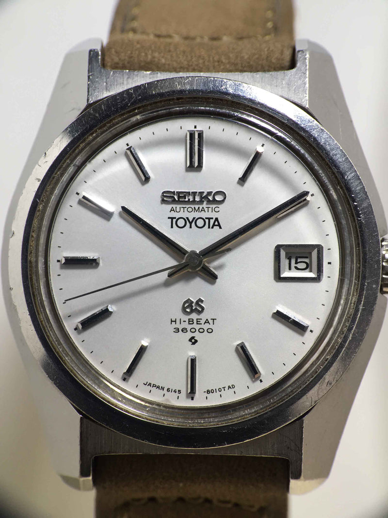 "1969 Grand Seiko 61 GS "" Toyota"" Ref. 6145-8000"