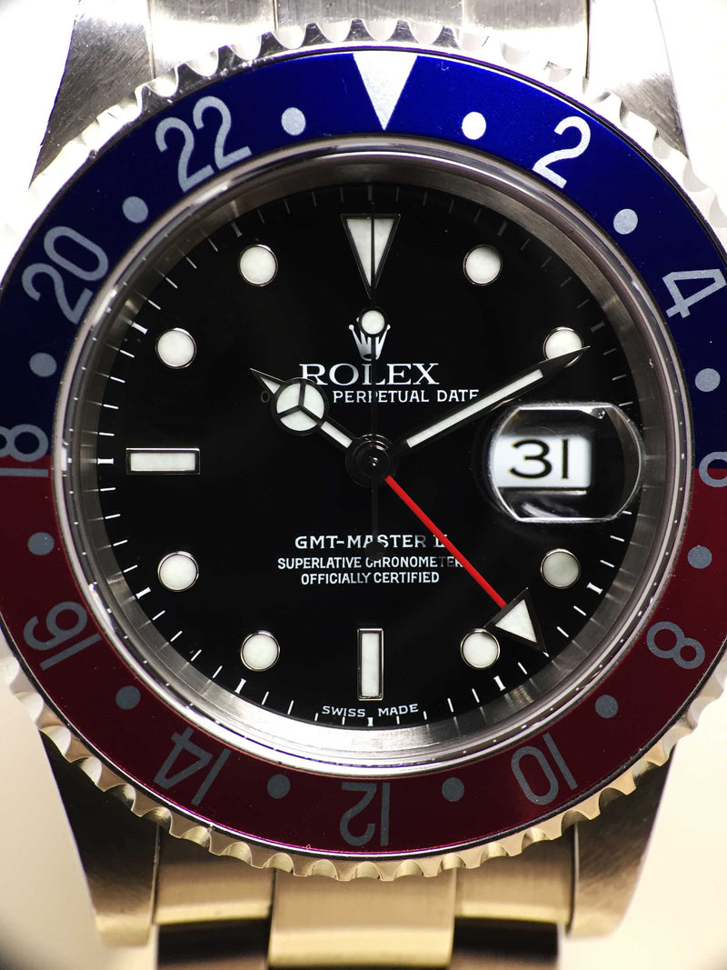 Rolex GMT Master II Pepsi Ref. 16710 Year 1999 (Full Set)