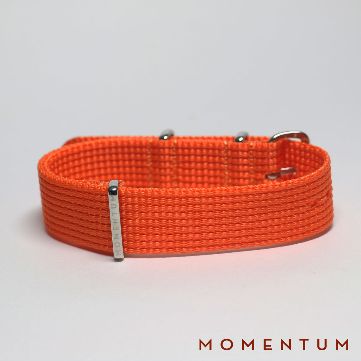 Nato Strap Orange - Braided - Momentum Dubai