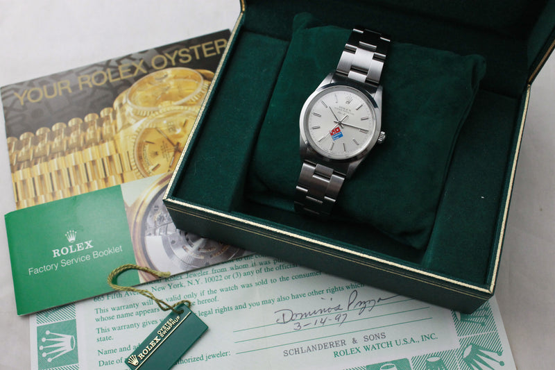 1997 - Rolex Air King 'Dominos Pizza' - Momentum Dubai