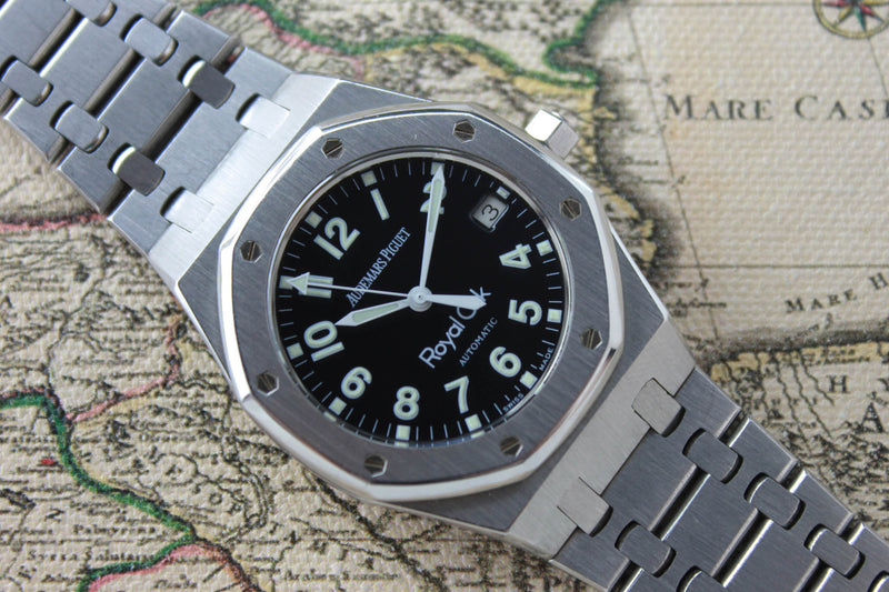 2001 - Audemars Piguet Royal Oak Military Dial - Momentum Dubai