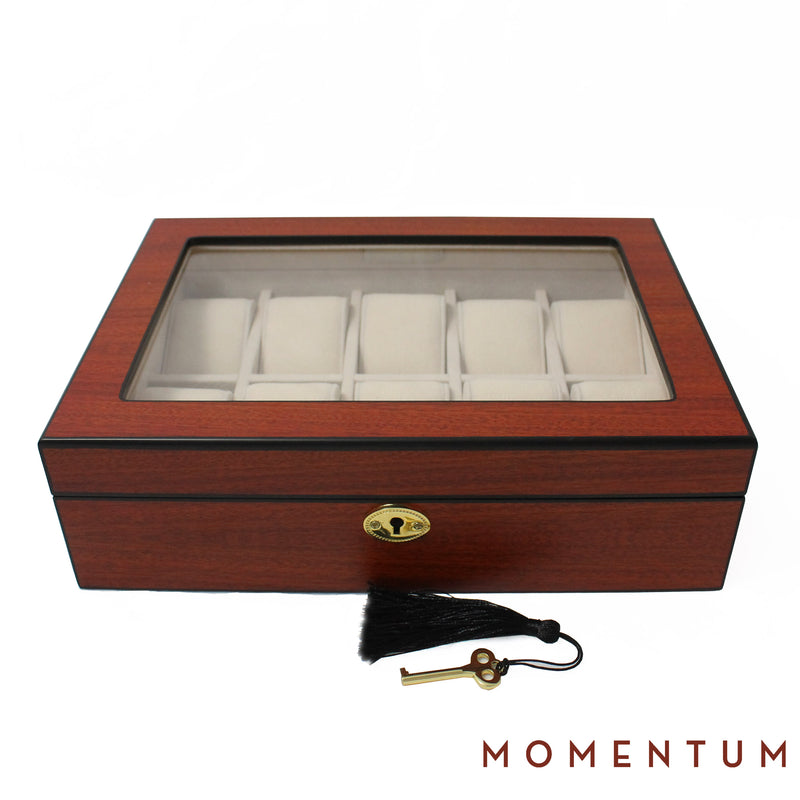 Riviera 10 Cherry - Watch Box