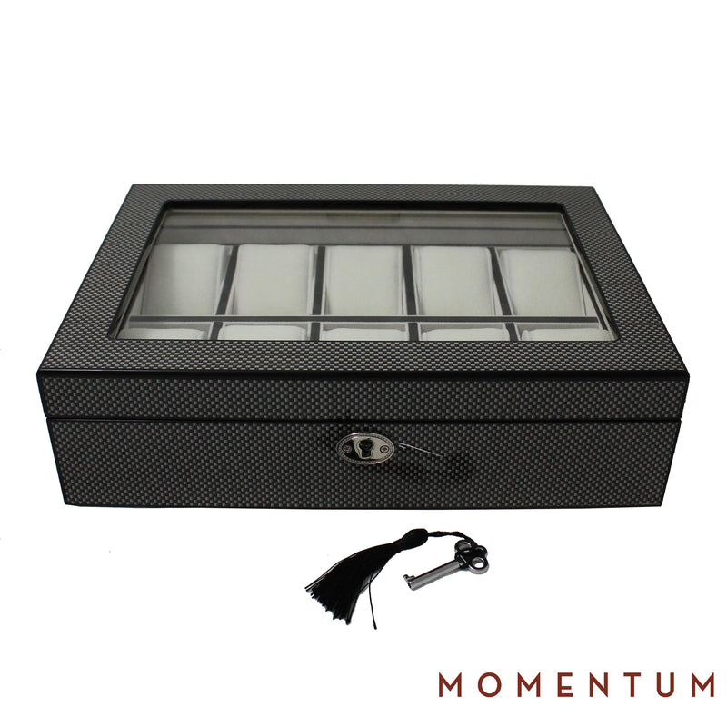 Sahara 10 Carbon - Watch Box