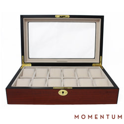 Riviera 12 Cherry - Watch Box