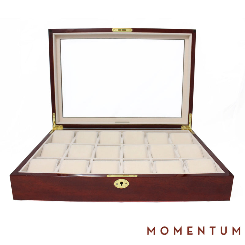 Riviera 18 Cherry - Watch Box
