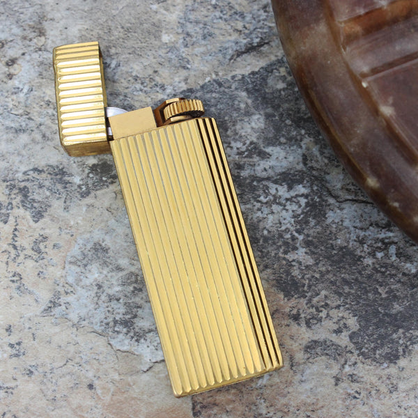 Vintage Cartier Lighter with Presentation Box and Booklet, 1970's