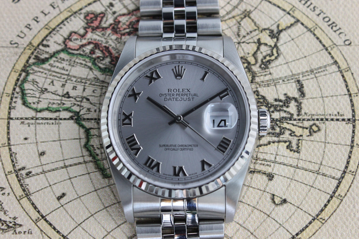 2004 - Rolex Datejust ST/WG (With Papers) - Momentum Dubai