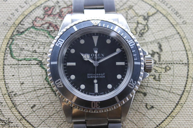 1968 - Rolex Submariner (Full Set) - Momentum Dubai
