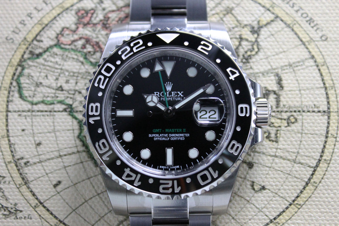 Rolex GMT Master II Seaking Helicopter Ref. 116710 Year 2014