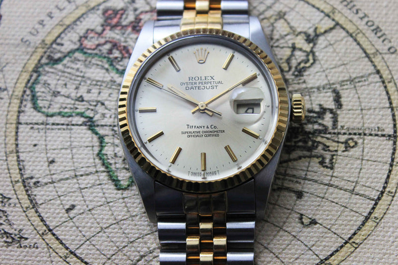 1985 - Rolex Datejust 'Tiffany & Co' - Momentum Dubai