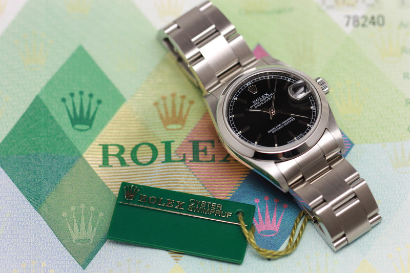 2004 - Rolex Datejust Medium (with papers) - Momentum Dubai