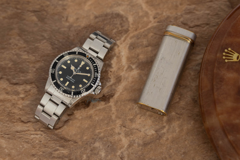 1982 Rolex Submariner Maxi MK4 Ref. 5513 (Full Set)