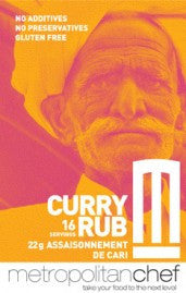 Curry Rub-Metro Chef