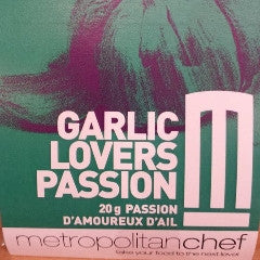 Garlic lovers passion-Metro Chef