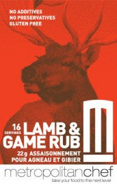 Lamb and Game rub-Metro Chef