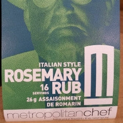 Italian style rosemary rub-Metro Chef
