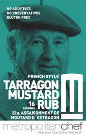 French Style Tarragon Mustard Rub-Metro Chef