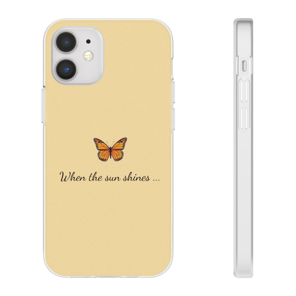 Trio Case butterfly yellow