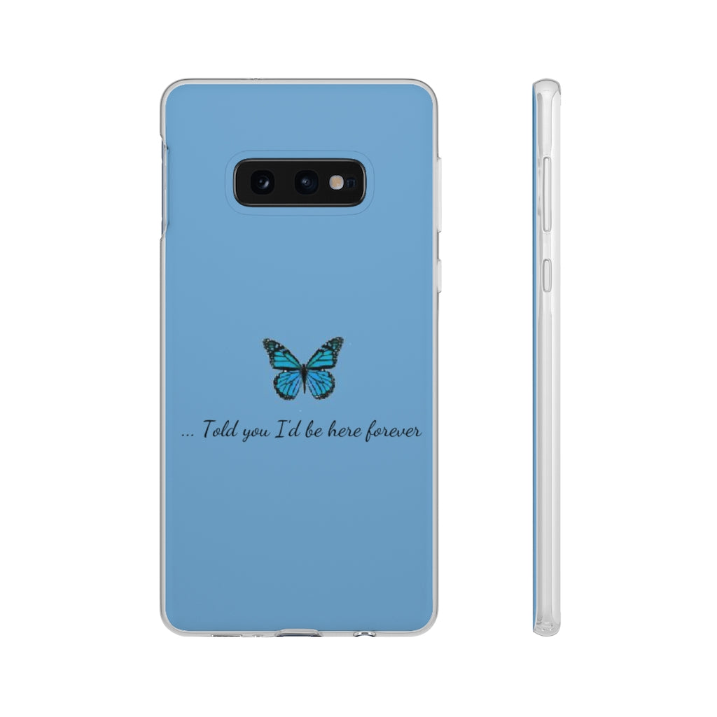 Trio Case butterfly blue