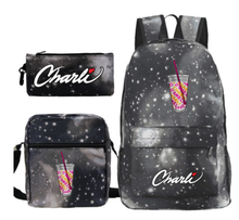 Load image into Gallery viewer, Charli x Galaxy Backpack Set -2