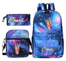 Load image into Gallery viewer, Charli x Galaxy Backpack Set -3